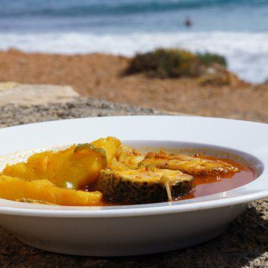 Guisat de peix (Sa Caleta)