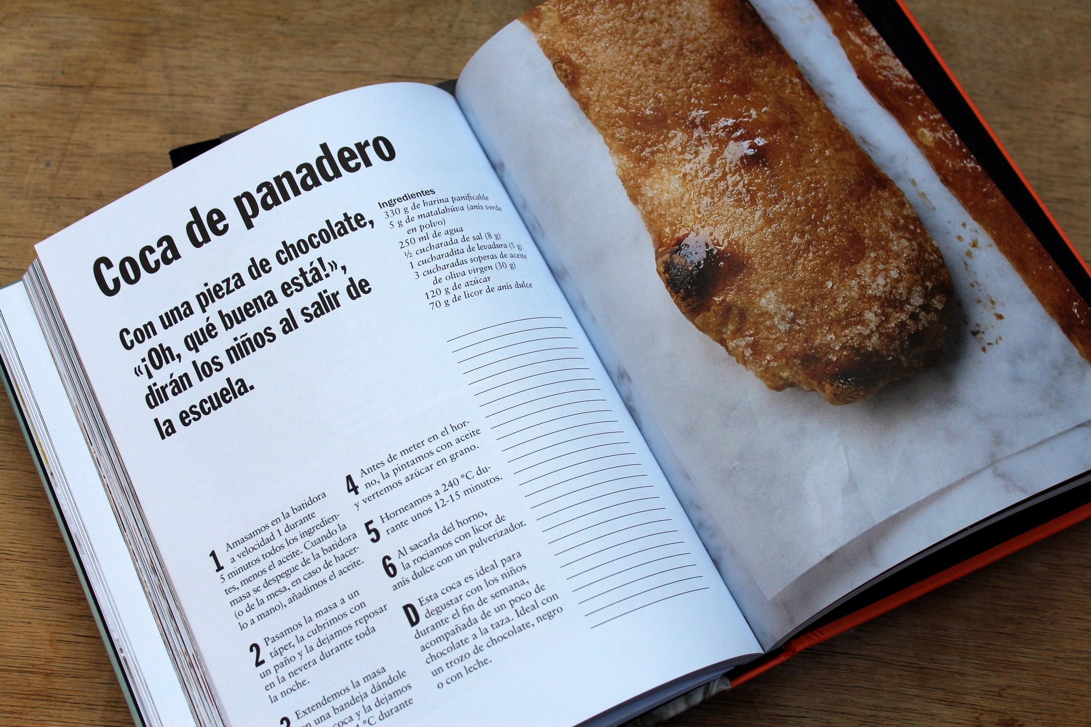 Bake it simple, Receta de coca de panadero