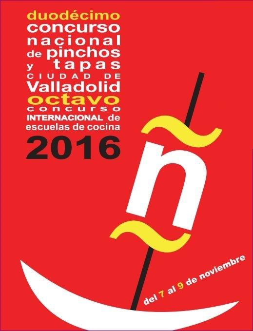 CARTEL CONCURSO NACIONAL DE PINCHOS 2016