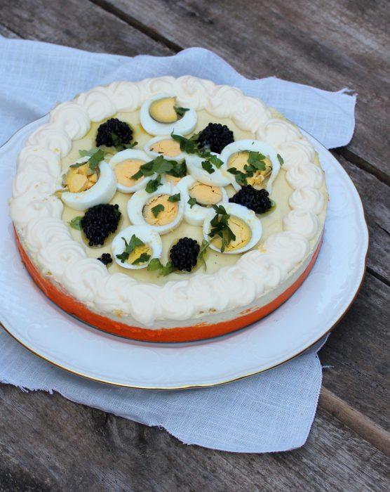 pastel frio de pimientos del piquillo y brandada de bacalao-2