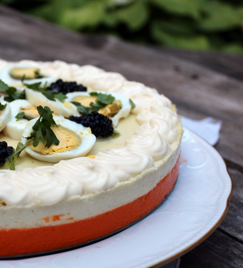 pastel frio de pimientos del piquillo y brandada de bacalao-3