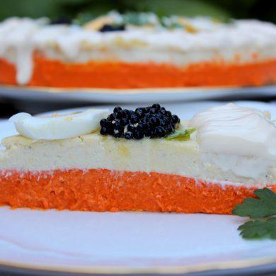 pastel frio de pimientos del piquillo y brandada de bacalao-5