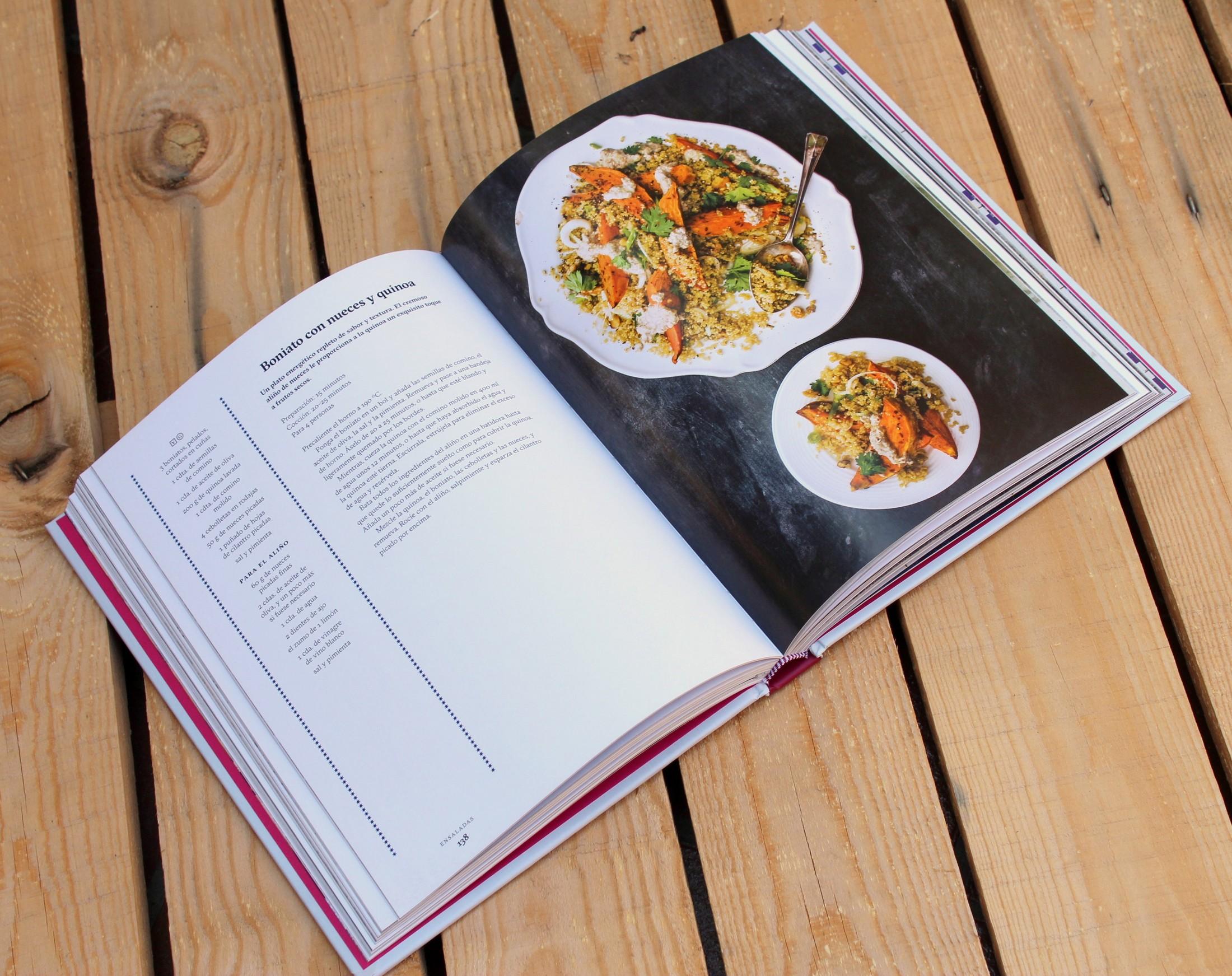 La Cocina Vegetariana de Oriente Próximo - interior
