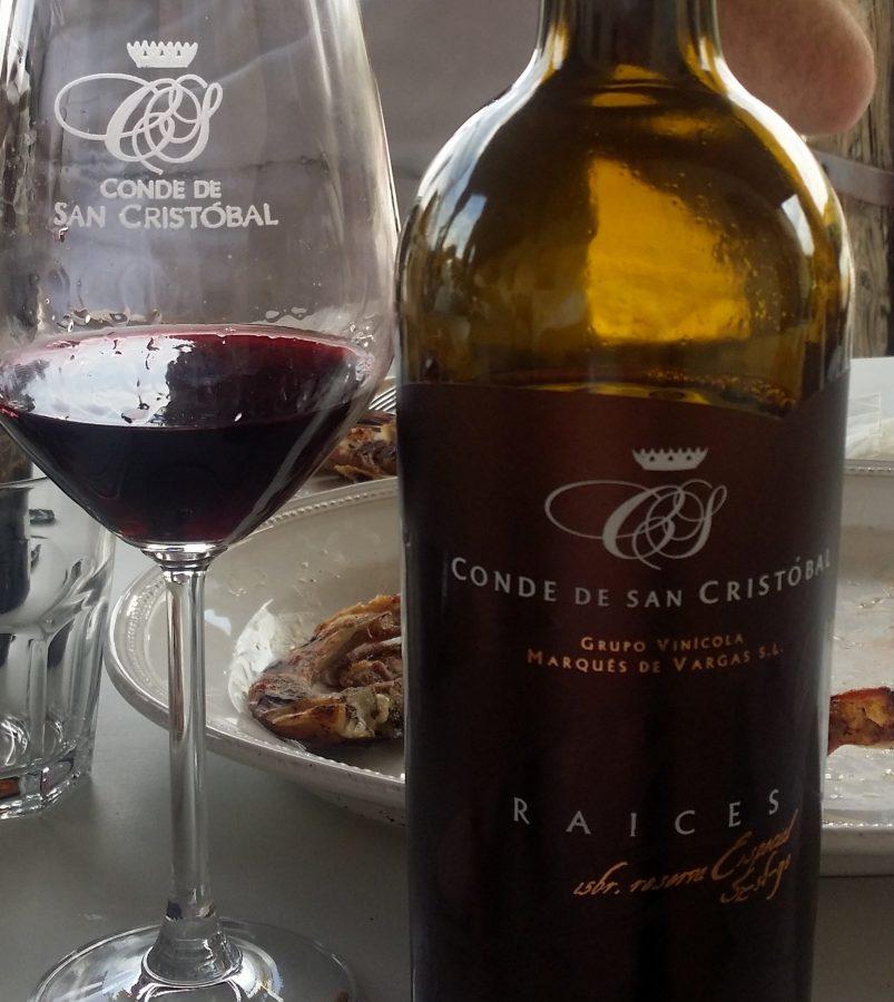vinos Bodega Conde de San Cristóbal