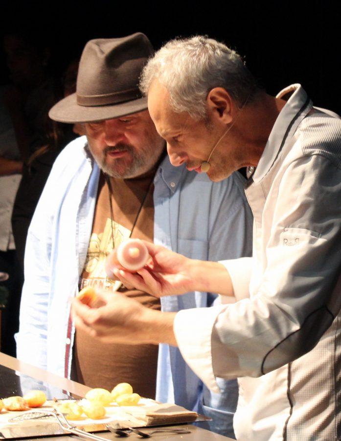 Jesús Almagro y Sacha Hornaechea