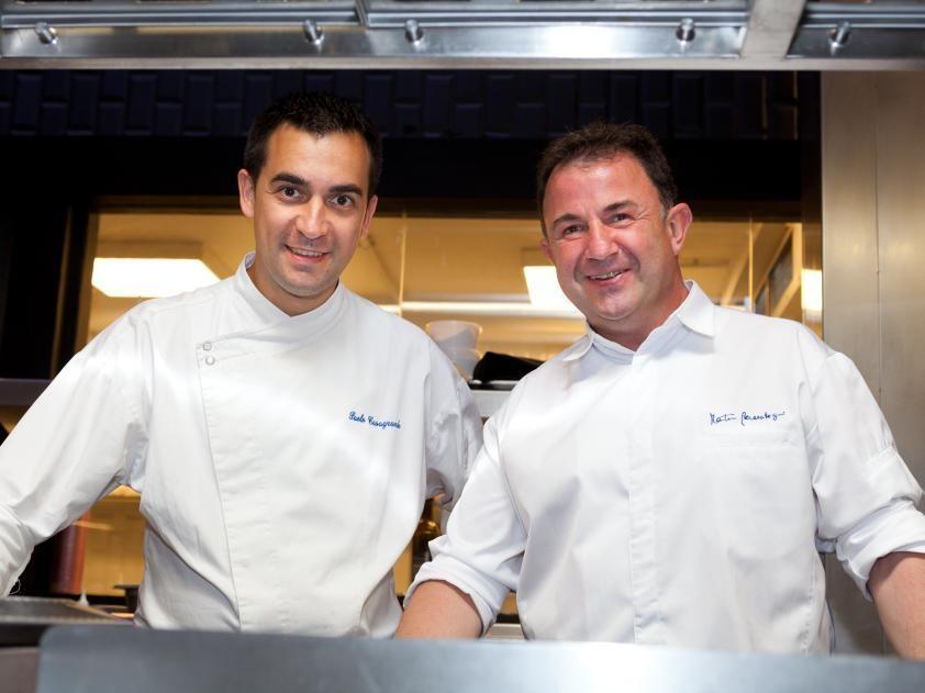 Paolo Casagrande y Martín Berasategui