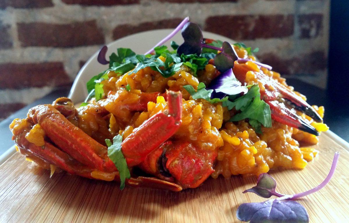 Receta de arroz con nécoras