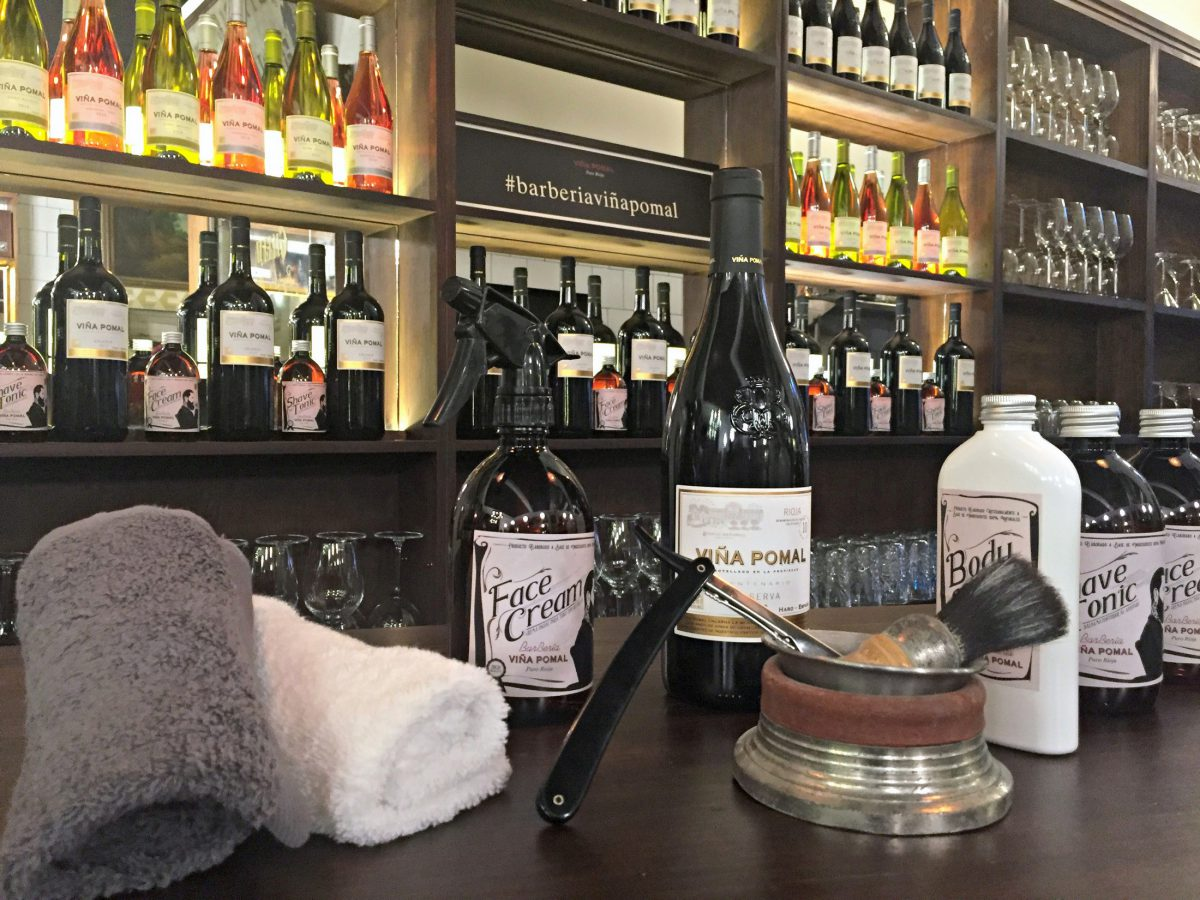Bar-beria Viña Pomal