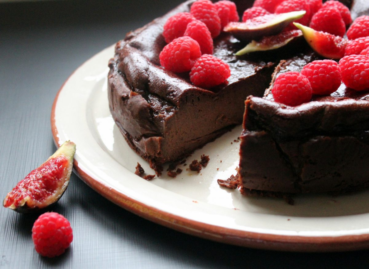 Choco Cheese Cake - Tarta de Queso y Chocolate