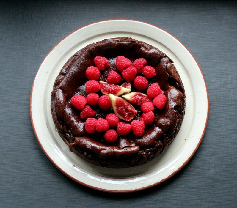 Choco Cheese Cake - Tarta de Queso y Chocolate
