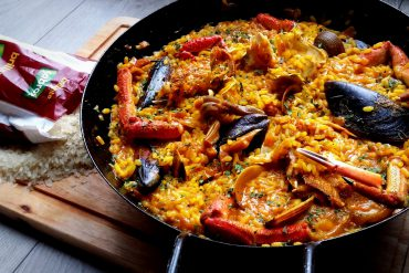 Receta de Paella, la tradicional de marisco