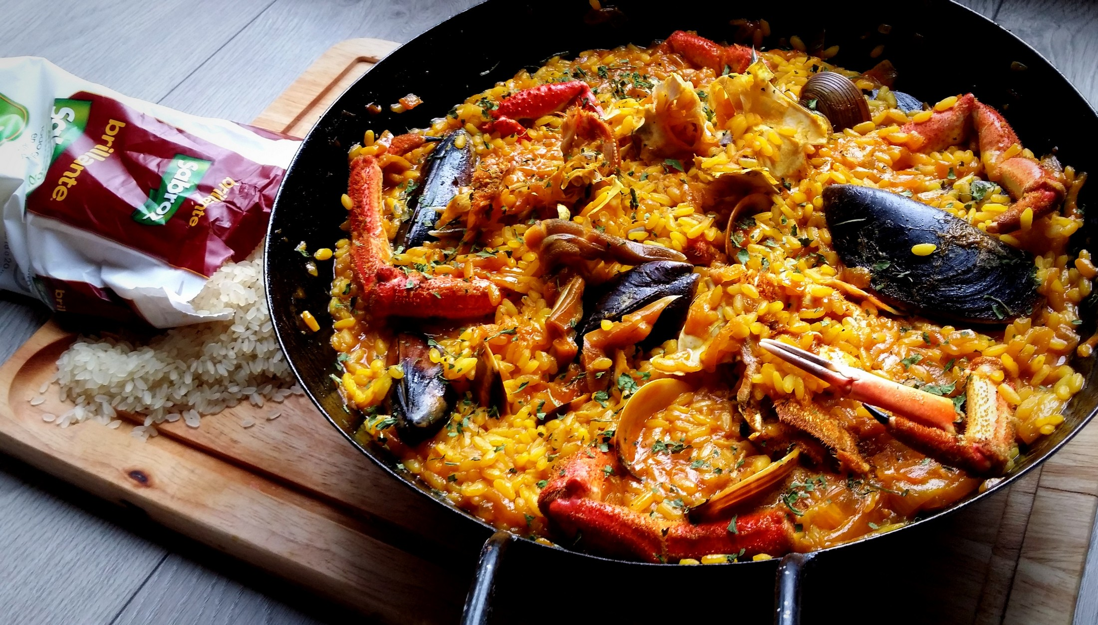Image result for paella marisco