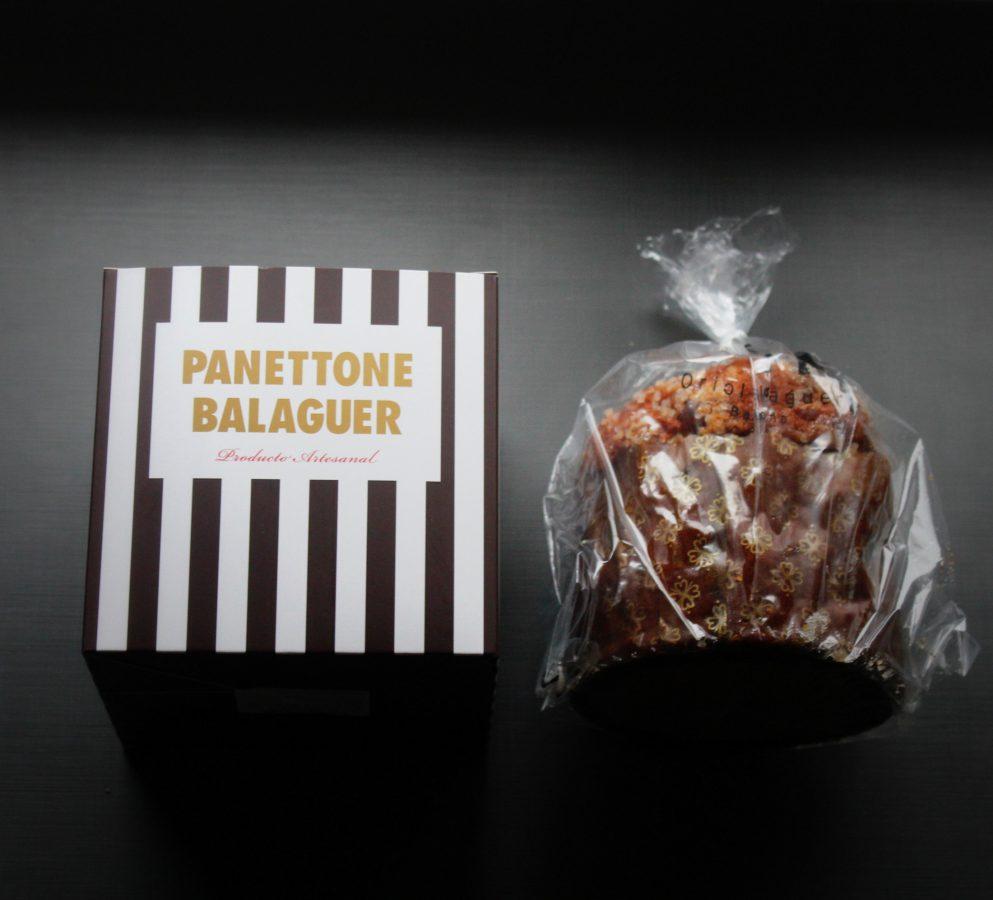Panettone de gianduja y castaña de Oriol Balaguer