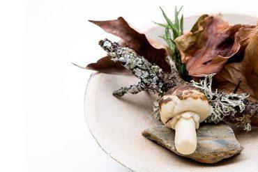 """""""Placer otoñal"""", de Alberto Montes Pereira. Restaurante Atrio de Cáceres"""