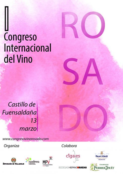 Cartel Congreso Internacional del Vino Rosado