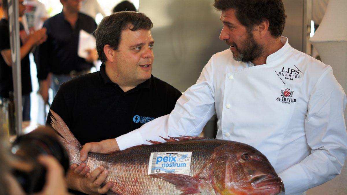 David Reartes y Pere Valera de Peix Nostrum