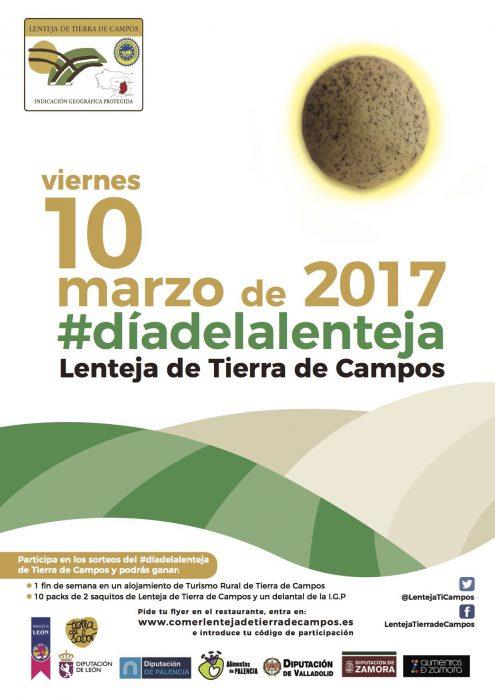 Cartel Día de la Lenteja 2017