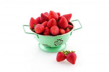 Fresas, una de las cinco raciones diarias de fruta y verdura