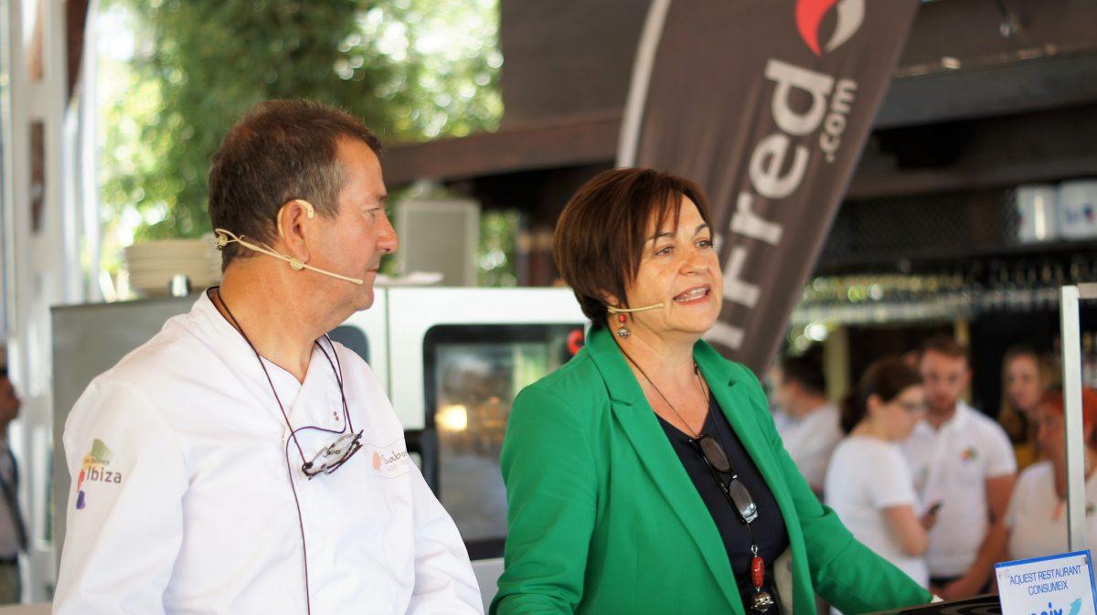Victoria y Francis gerentes de Can Cires