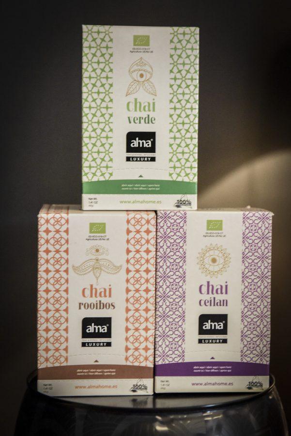 Alma: Teas & herbal infusions