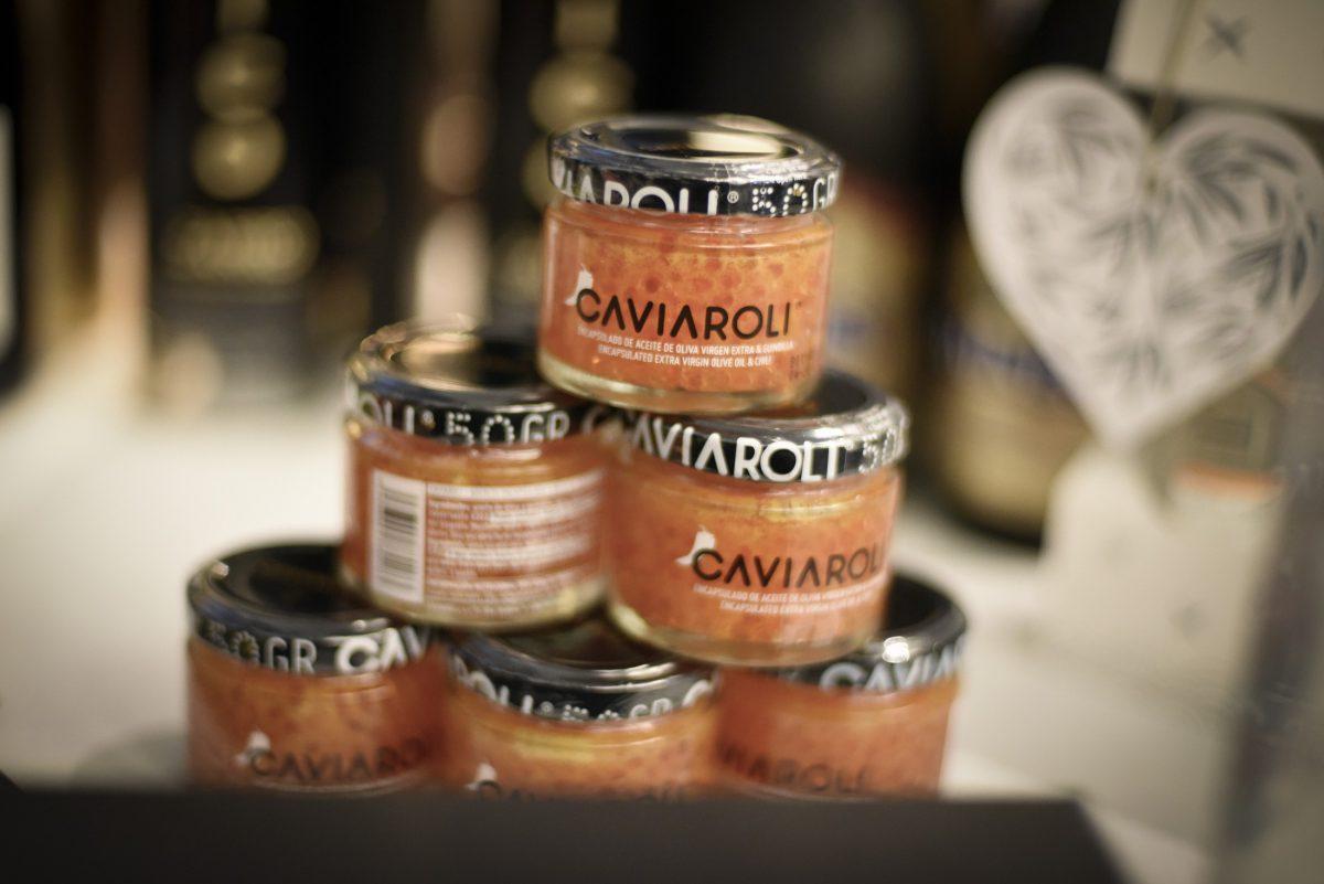 Caviar de aceite de oliva virgen extra Caviaroli