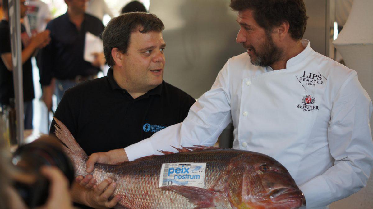 David Reartes, del restaurante de Ibiza Lips Reartes