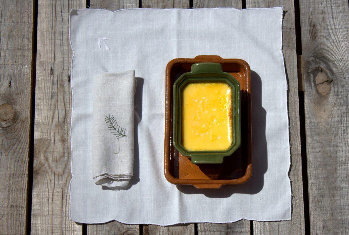 Flan de queso casero, la receta de mamá