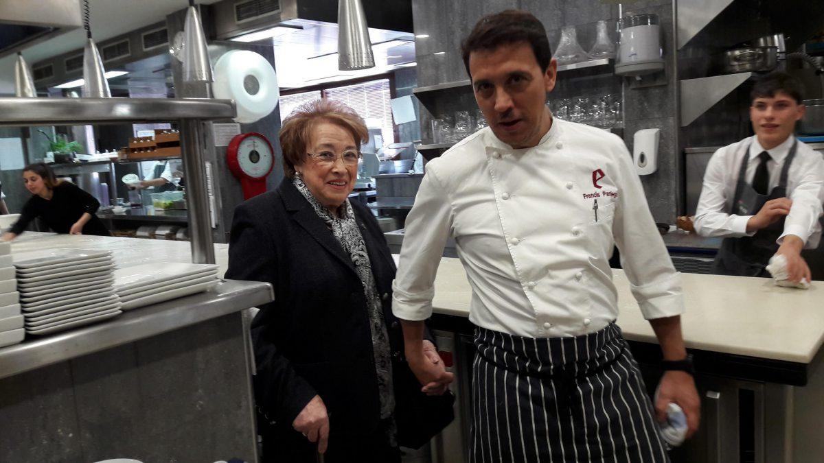 Francis Paniego y Marisa Sánchez