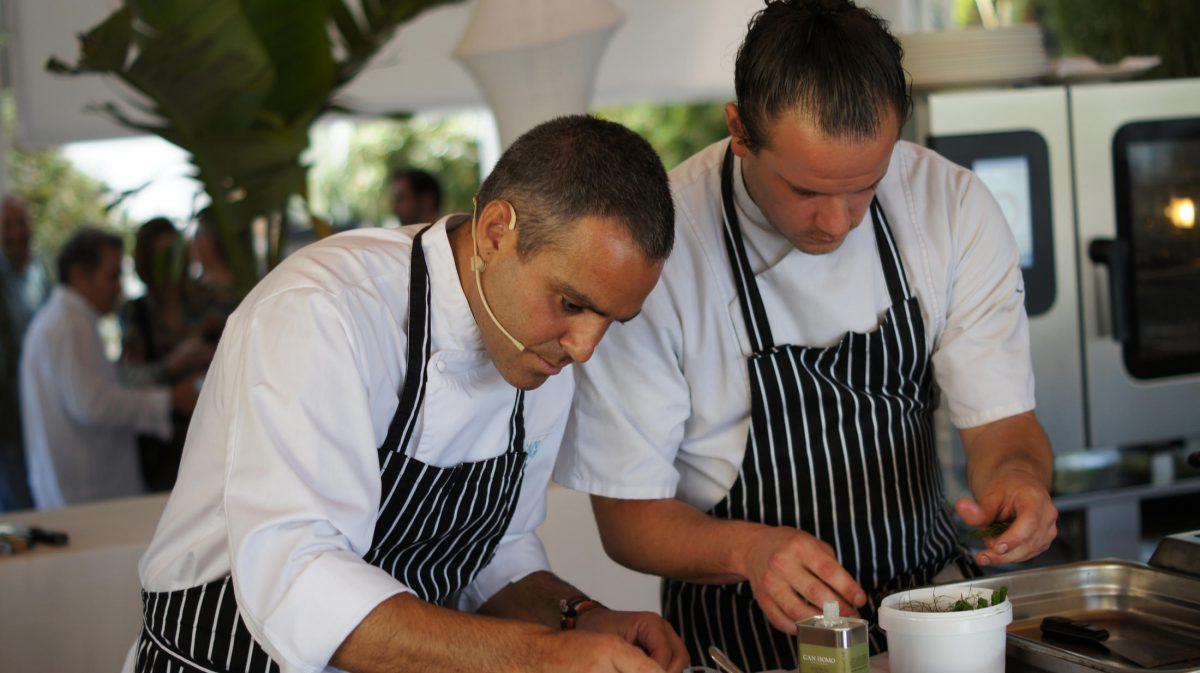 Pau Barba, cocinero de Can Domo en el Foro de Gastronomía del Mediterráneo