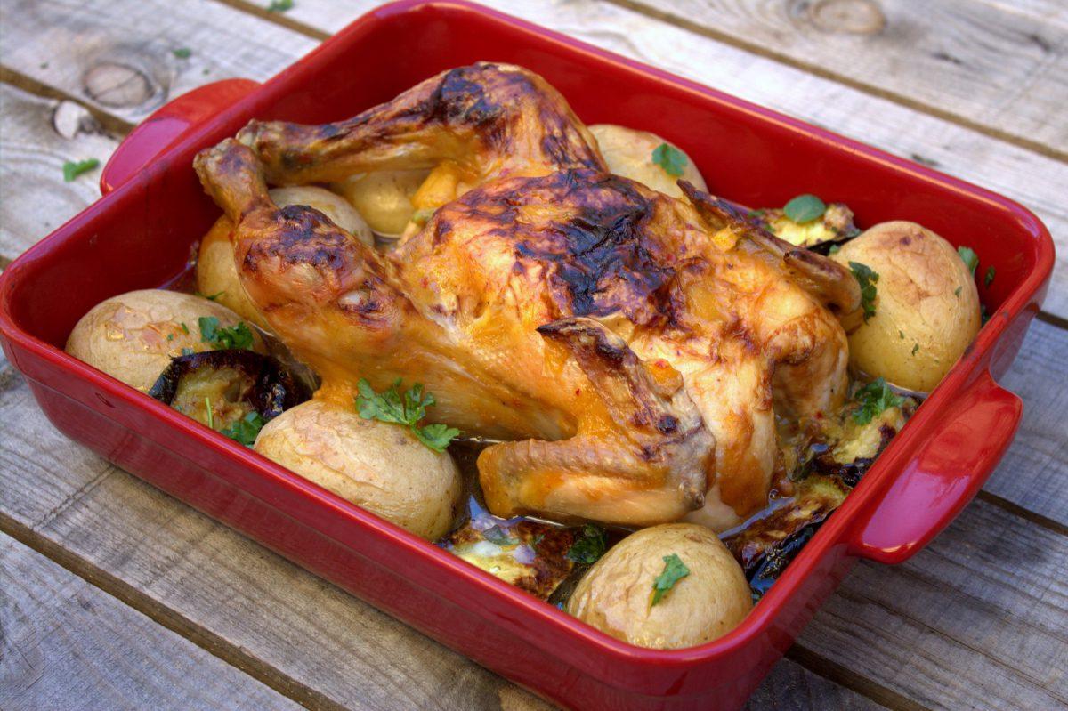Maneras de cocinar pollo al horno interesting pollo for Maneras de preparar pollo