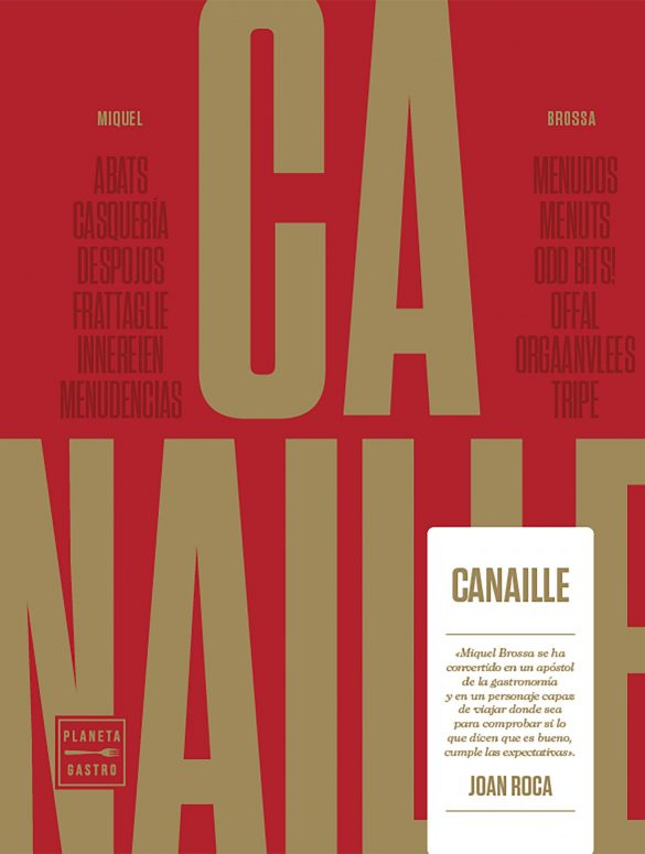 Canaille, de Miquel Brossa. Lo mejor de la cocina de casquería