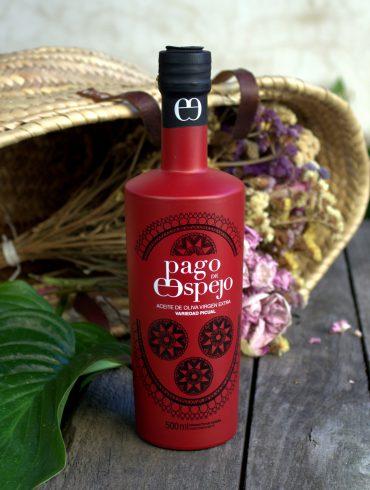 Pago de Espejo. Aceite de oliva virgen extra Picual, de Sierra Morena.