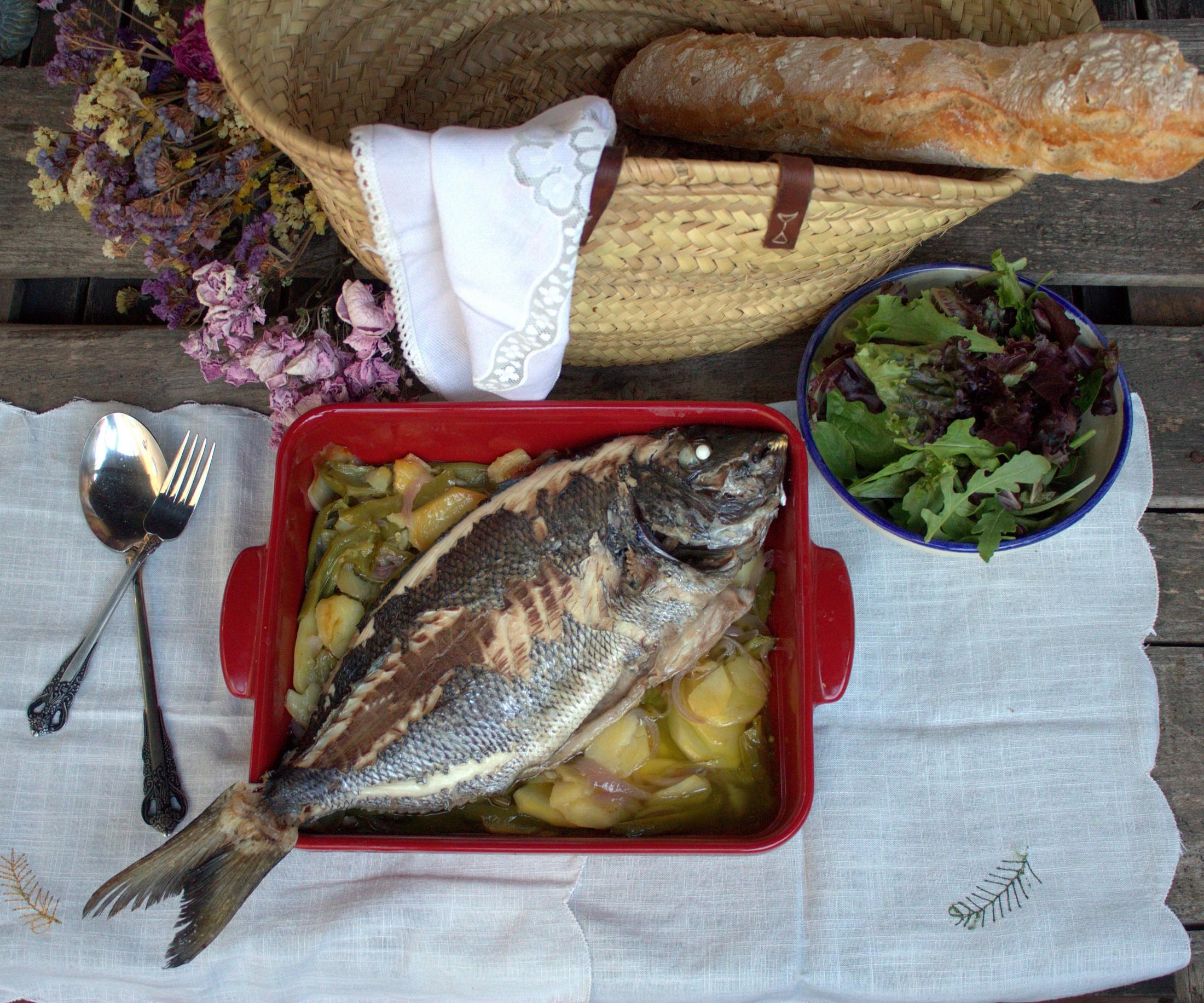 Cocinar Sargo   Sargo Al Horno Un Pescado De Carne Blanca Y Sabor Delicado
