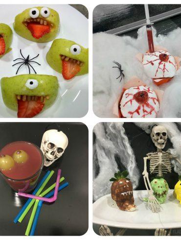 Recetas fáciles y terroríficas para sorprender en Halloween