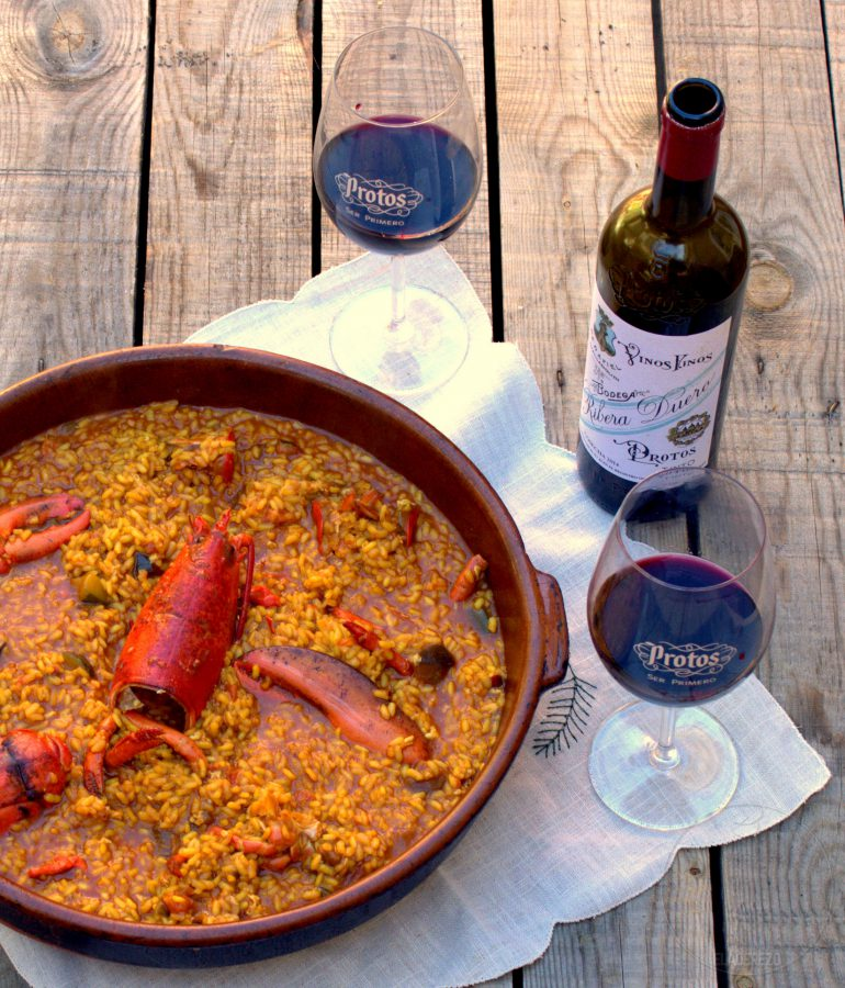 arroz bogavante y protos
