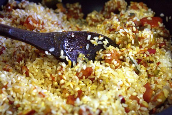 rehogamos el arroz