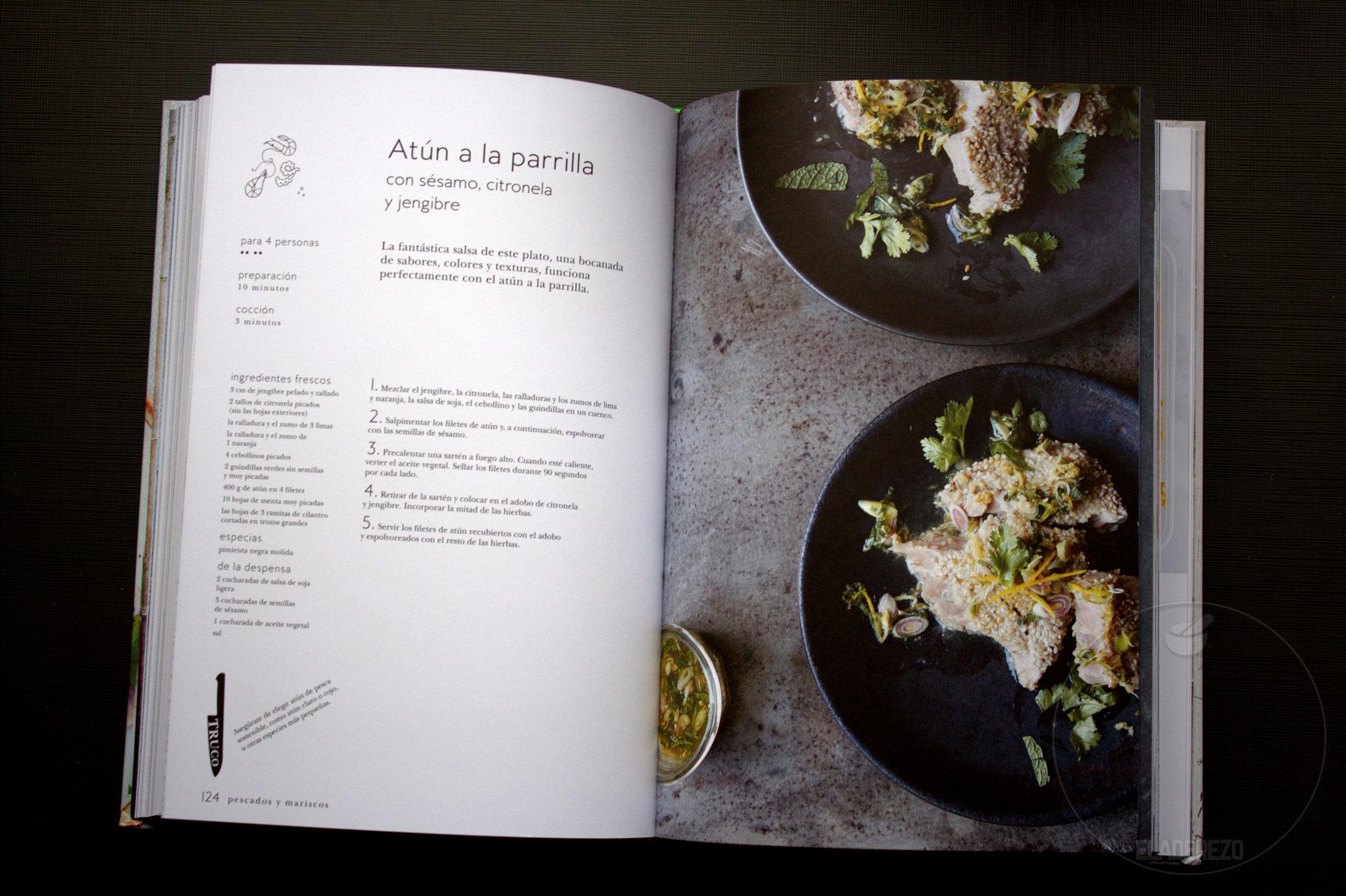 atun a la parrilla - Mi primer libro de cocina thai