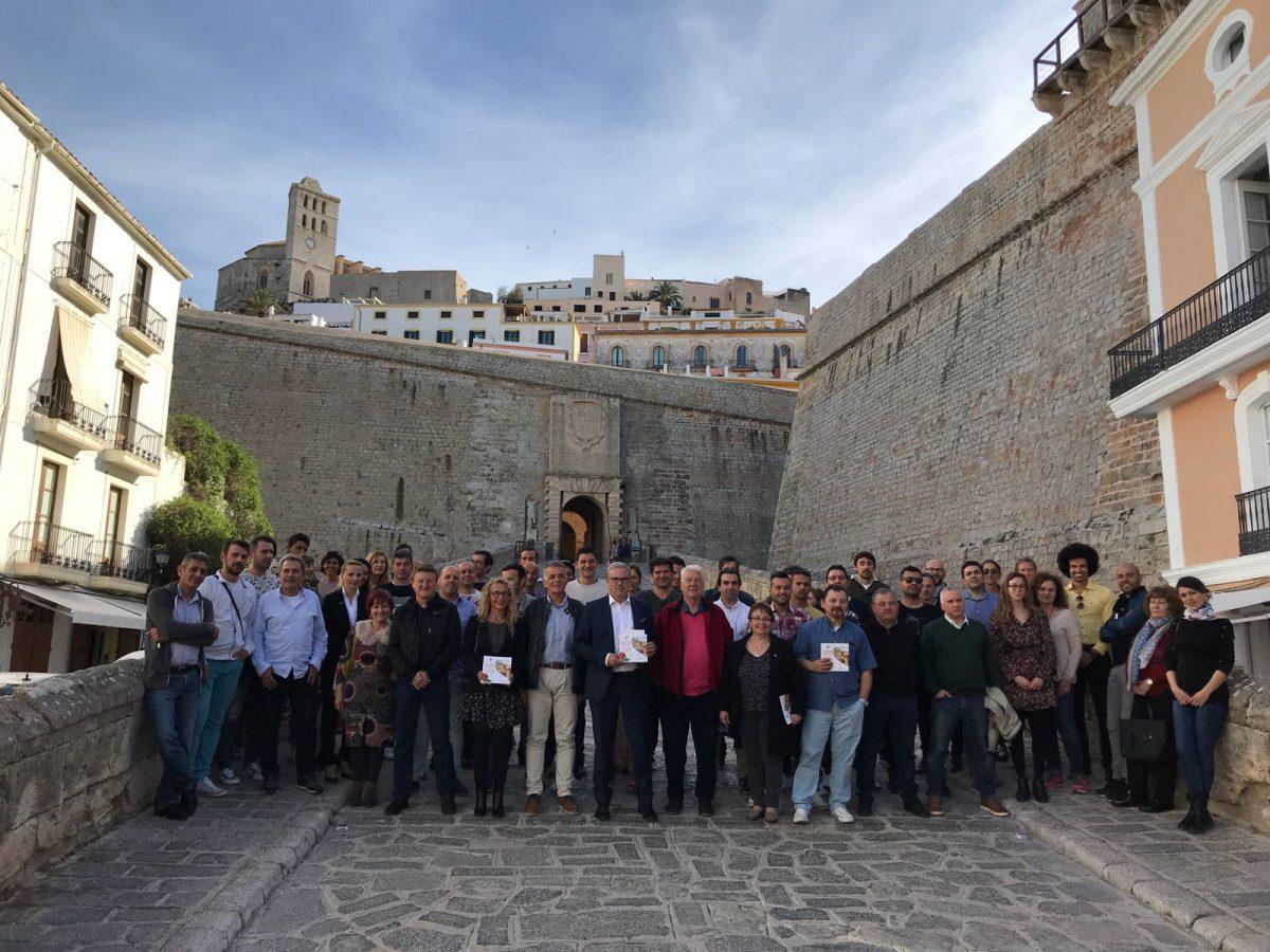 Presentación de las  Jornadas Gastronómicas de Primavera Ibiza sabor 2018