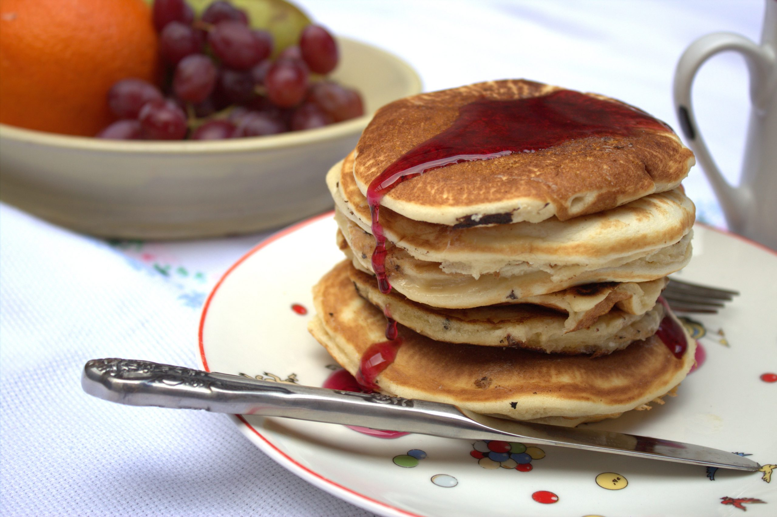pancakes o tortitas américanas