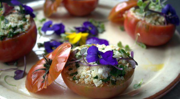 Receta de Tomate Raf relleno