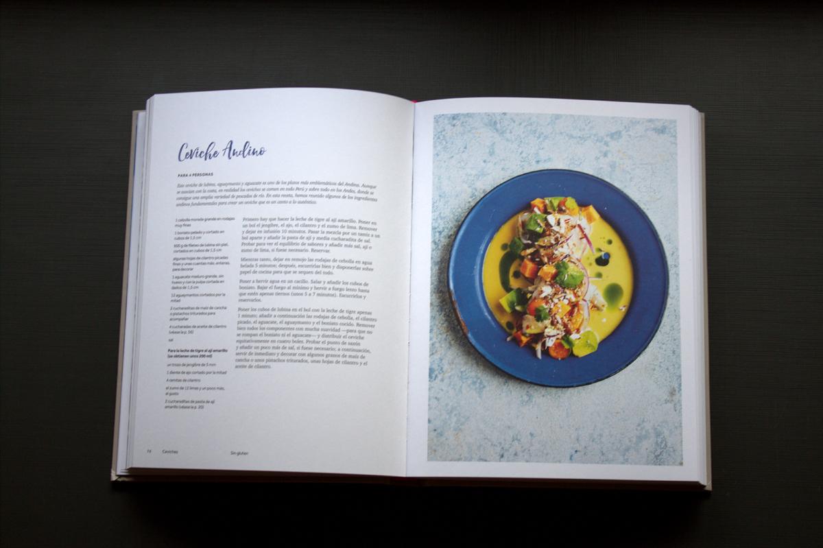 andina, libro de cocina peruana
