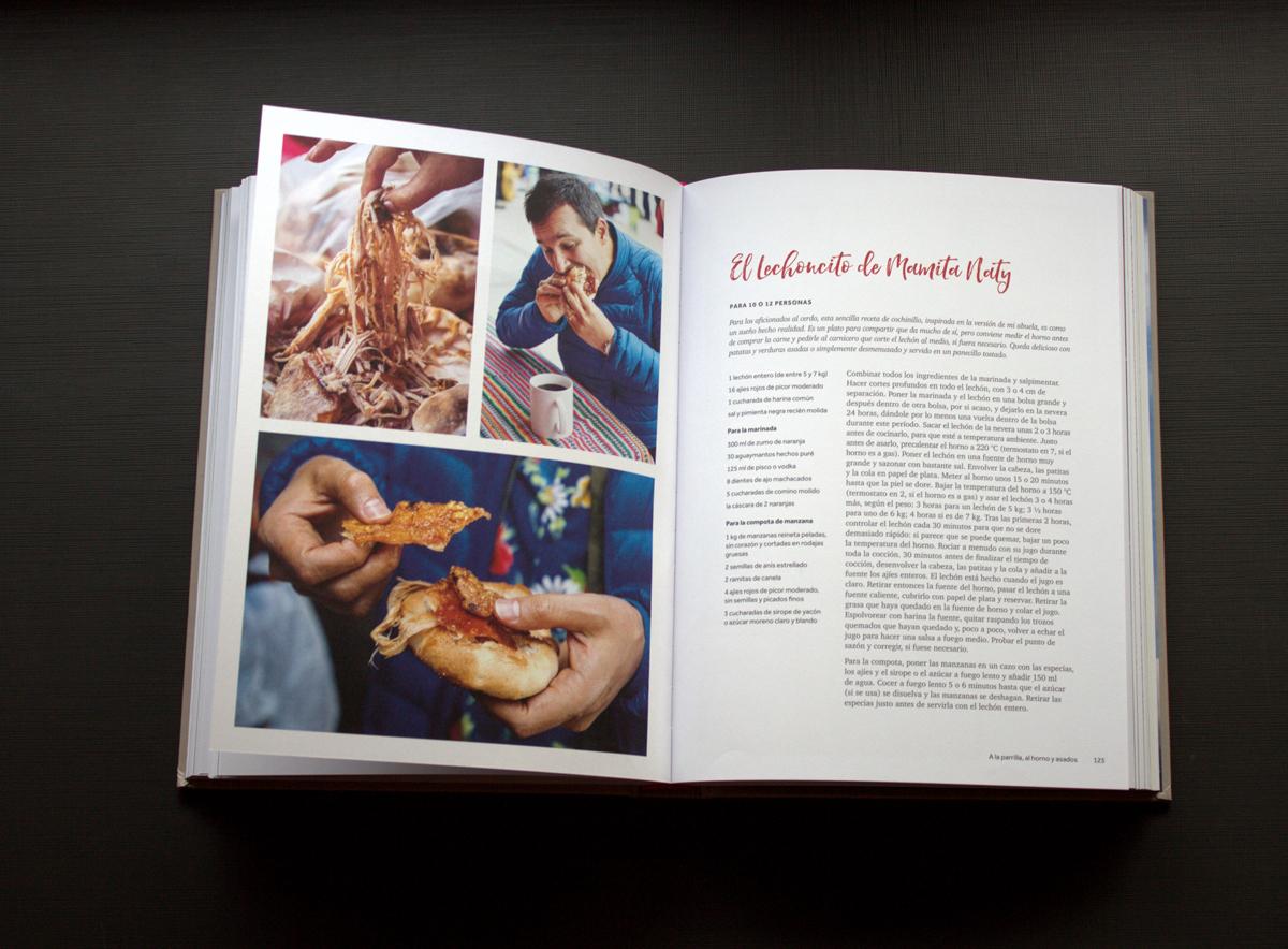andina, libro de cocina
