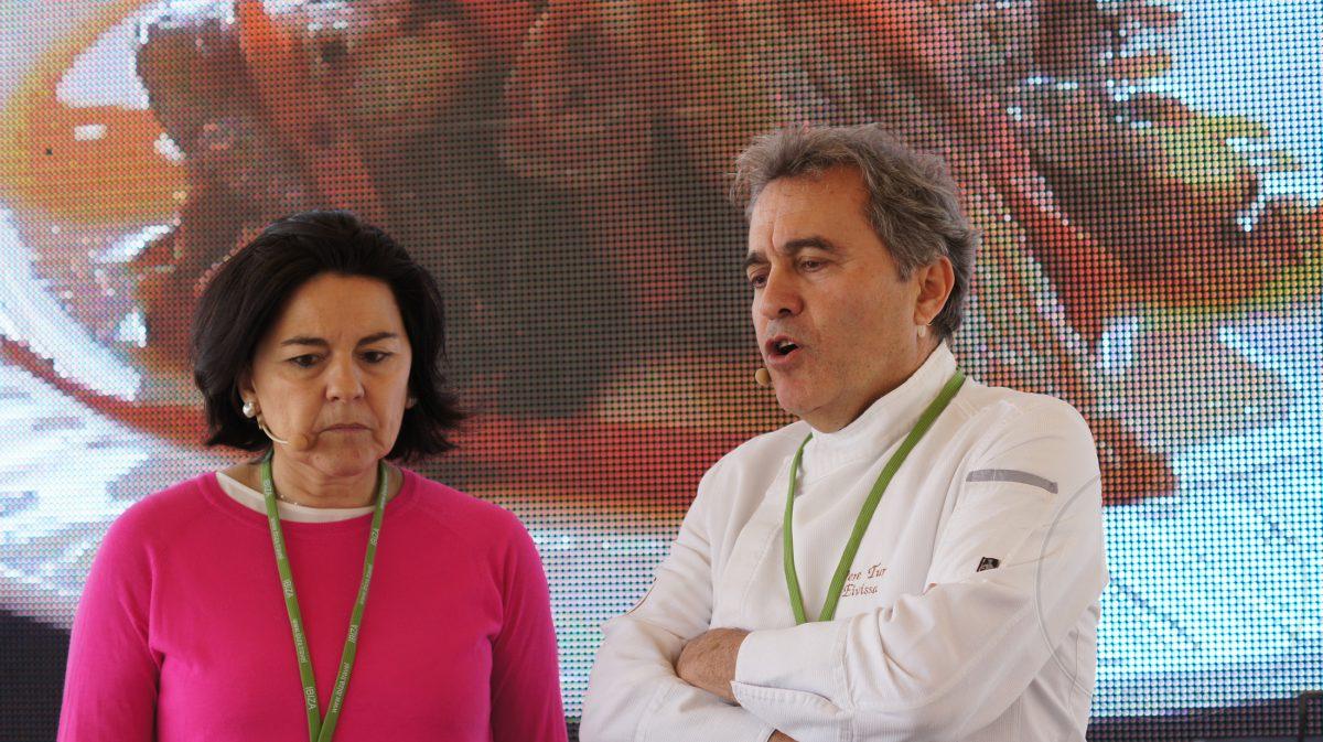 El ibicenco Pedro Tur, chef de Sa Nansa y Julia Pérez Lozano