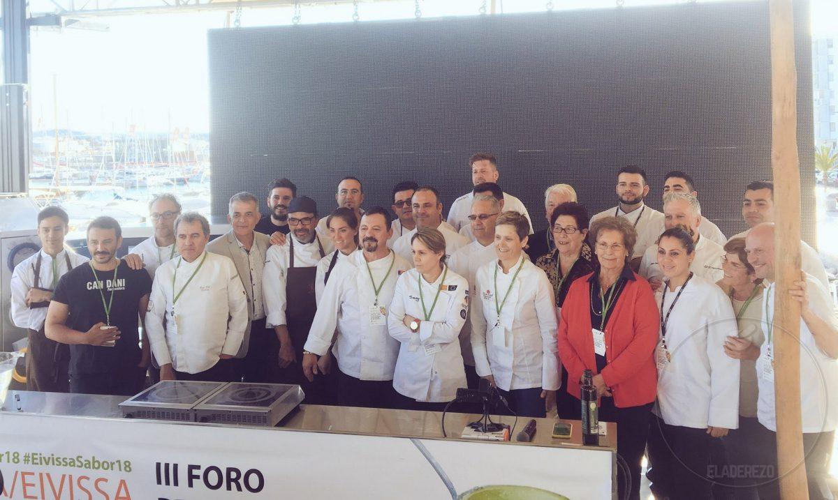 Participantes en el al III Foro Profesional de Gastronomía del Mediterráneo