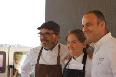 Jesús Sánchez, Alejandra Rivas, Ángel León
