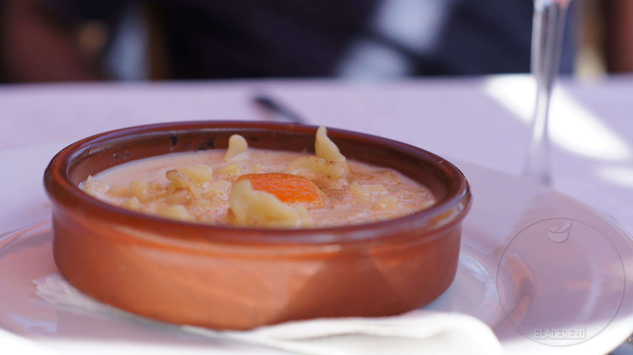 Macarrones de San Juan del restaurante Sa Caleta