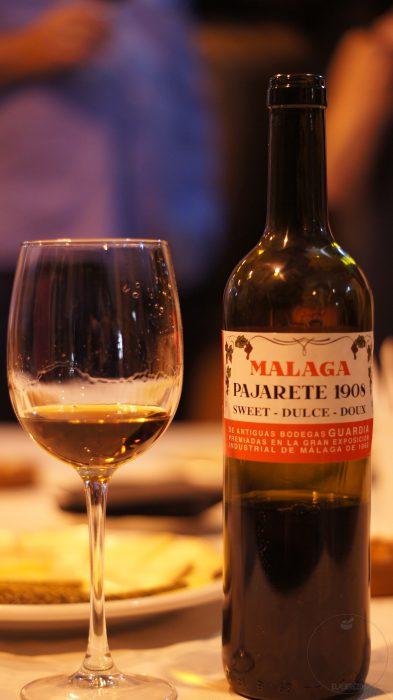 Vino de Málaga (Pajarete) - Bodega Antigua de Guardia