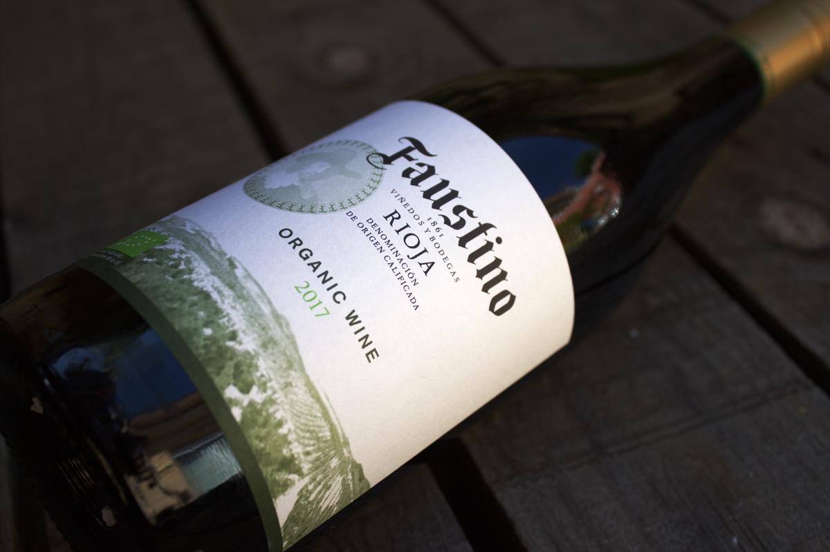 faustino organic wine vino ecologico