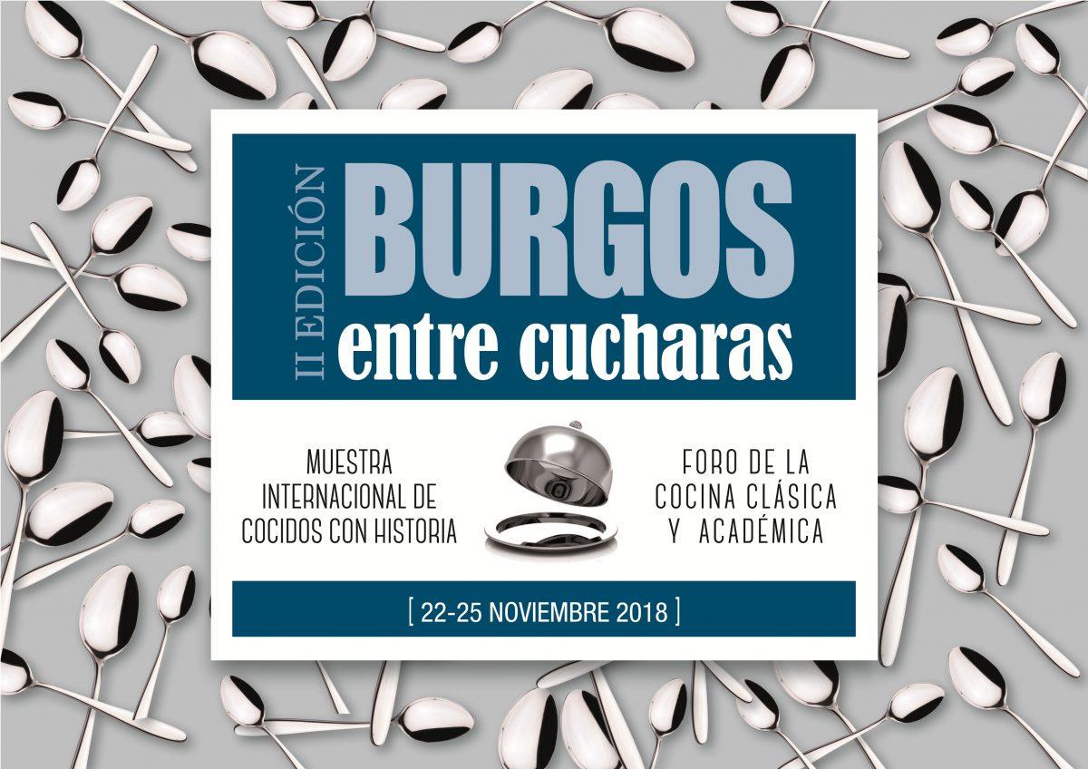 Cartel Burgos entre Cucharas 2018