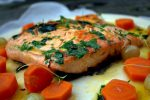 Salmon a la naranja 1